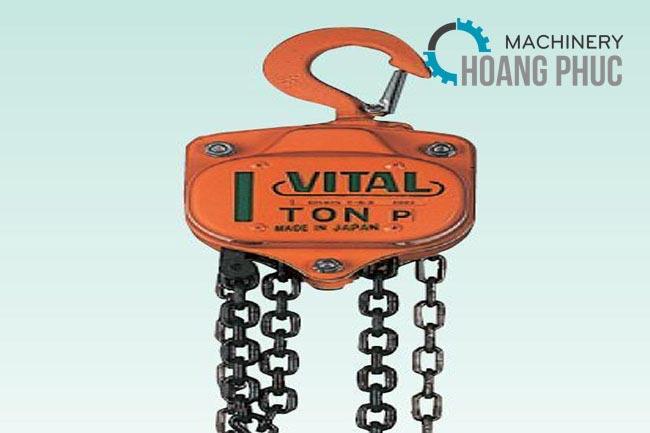Palang xích kéo tay Vital VP5 – 20 (2 tấn - 5m)